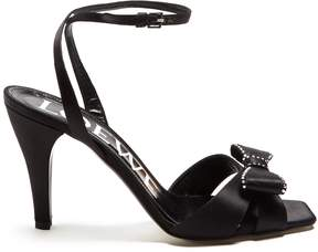 Loewe Bow-embellished satin sandals