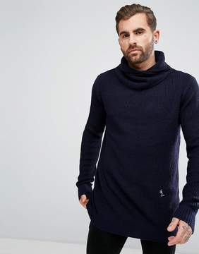 Religion Funnel Neck Sweater