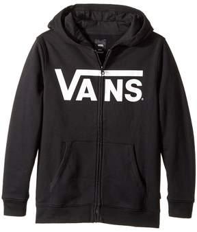 Vans Kids Classic Zip Hoodie Boy's Sweatshirt