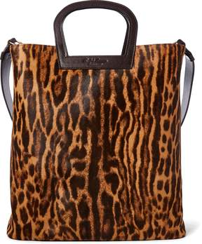 Ralph Lauren Horseshoe Ocelot Haircalf Tote
