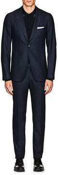Isaia Men's Cortina Stretch-Wool Two-Button Suit