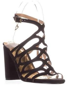 Thalia Sodi Ts35 Kiarah Block-heel Dress Sandals, Black.