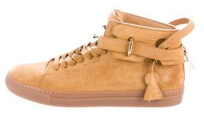 Buscemi 100MM Mid-Top Sneakers