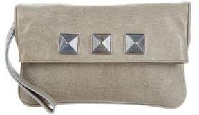 Marc Jacobs Embellished Wristlet Clutch - GREY - STYLE