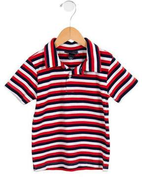 Oscar de la Renta Boys' Striped Collared Top