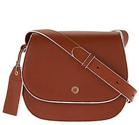 Isaac Mizrahi Live! Nolita Pebble LeatherSaddle Handbag