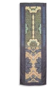 Etro Printed Silk Blend Scarf