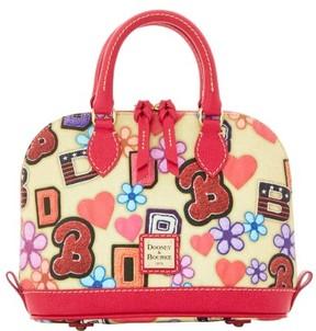Dooney & Bourke Varsity Bitsy Bag - BEIGE - STYLE