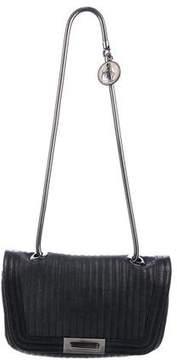 Lanvin Leather Flap Shoulder Bag