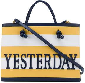 Alberta Ferretti yesterday shopper bag