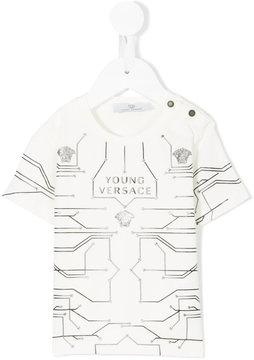 Young Versace graphic print T-shirt