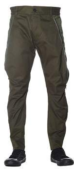 Diesel Black Gold Men's Green Cotton Pants.