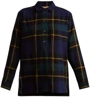 Burberry Strenton tartan-wool shirt