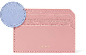 Roksanda Textured-leather Cardholder - Blush