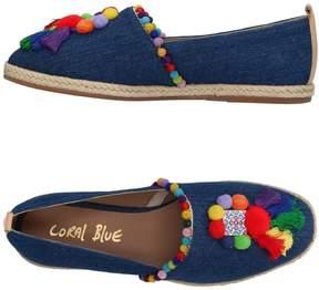 Coral Blue Espadrilles