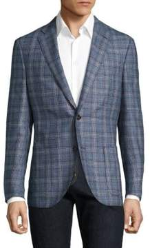 Luciano Barbera Regular-Fit Wool & Silk Sportcoat