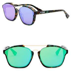 Cat Eye AQS Women's Scout 55mm Navigator Sunglasses