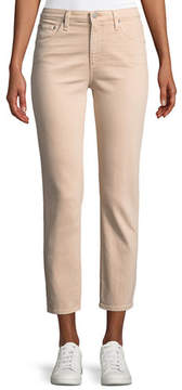 AG Jeans Isabelle Cropped Straight-Leg Jeans