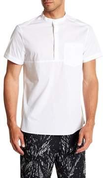 Kenneth Cole New York Popover Short Sleeve Regular Fit Shirt