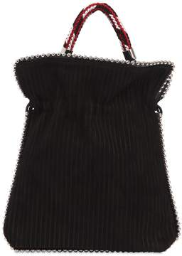 Les Petits Joueurs Big Trilly Metal Beads Leather Bag