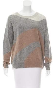 White + Warren Round Neck Knit Sweater