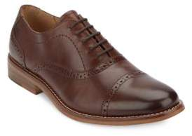 G.H. Bass Carnell Perforated Captoe Derby Shoes