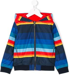 Paul Smith striped reversible jacket