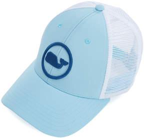 Vineyard Vines Boys Whale Dot Puff Embroidered Trucker Hat