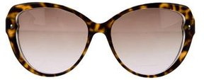 Christian Dior Tortoiseshell Cat-Eye Sunglasses