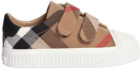 Burberry Classic Check Canvas Strap Sneakers