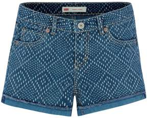 Levi's Girls 7-16 Scarlett Diamond Shortie Shorts