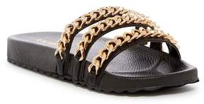 Liliana Nomi Chain Slide Sandal