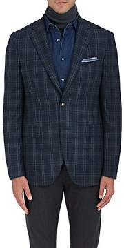 Boglioli Men's Plaid Wool Flannel Two-Button Sportcoat