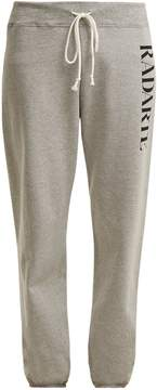 Rodarte Logo-print cotton-blend track pants
