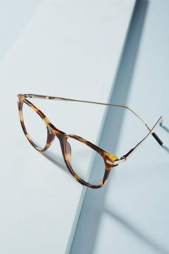 Anthropologie Chelsea Tortoise Reading Glasses