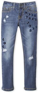 Vigoss Girls 4-6x) Galaxy of Stars Skinny Jeans