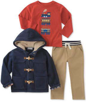 Kids Headquarters 3-Pc. Jacket, Shirt & Pants Set, Little Boys (4-7)