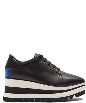 Stella McCartney Sneak-Elyse faux-leather platform trainers