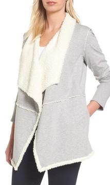 Caslon Women's Faux Fur Lined Knit Jacket