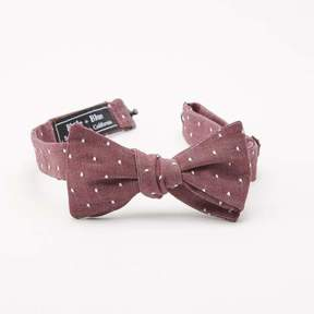 Blade + Blue Burgundy Chambray with Dot Bow Tie