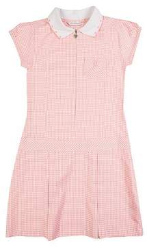 Marks and Spencer Gingham Pleated Dress (2-14 Years)