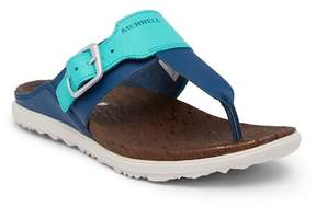 Merrell Around Town Post Print Thong Sandal