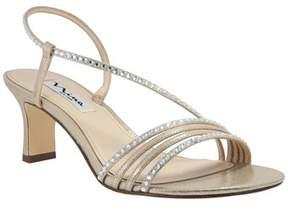 Nina Mh Suedette Asymetrical Sandal.