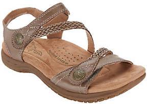 Earth Origins Leather Adjustable Sandals- Salina