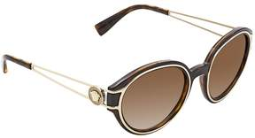 Versace Brown Gradient Round Sunglasses VE4342 10813