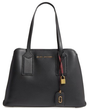 Marc Jacobs The Editor Leather Tote - Black