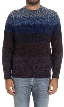 Missoni Men's Blue Wool Sweater.