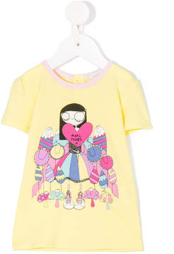 Little Marc Jacobs Miss Marc printed T-shirt