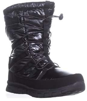 Khombu Altam Waterproof Snow Boots, Black.