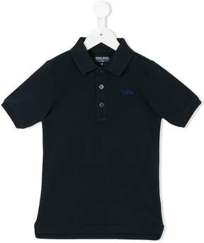 Woolrich Kids embroidered polo shirt